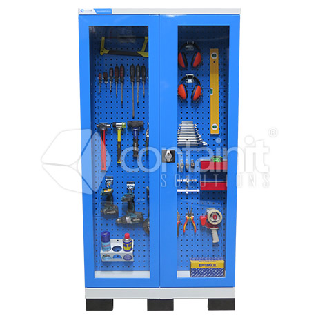 1010 Series Storeman® Workstation Cabinets with Sloping Tool Board