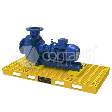 Double Pallet Assembly for Centrifugal Pump