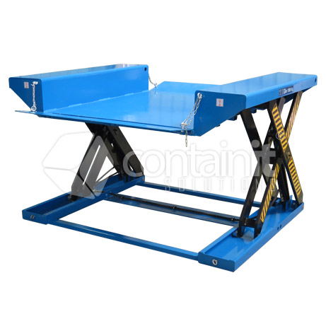 1500kg extra low profile electric lift table