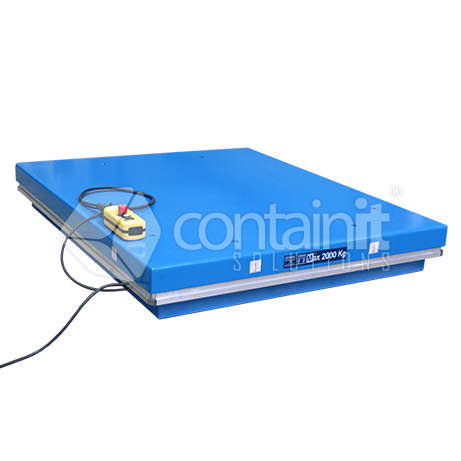 2000kg Capacity Electric Lift Table down