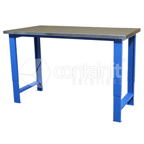 Adjustable Workbench with Gal up
