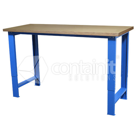 Adjustable Workbench with Ply Worktop