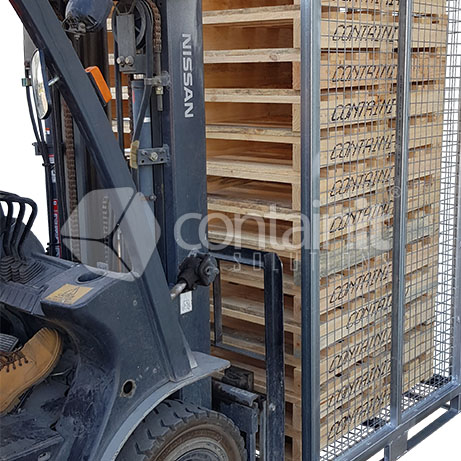 CPS-2400 Pallet Store Organised in use