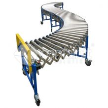 Expandable Conveyor with rollers