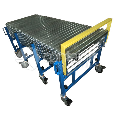 Expandable Conveyor with rollers straight