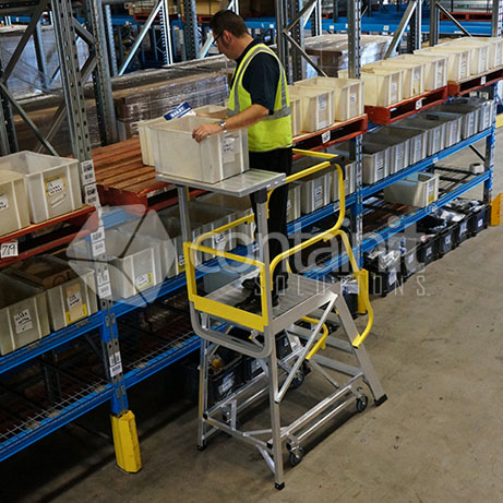 Order Picker Access Platforms in use 2