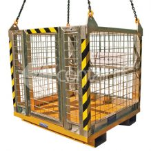 4 person, personnel lifting cage