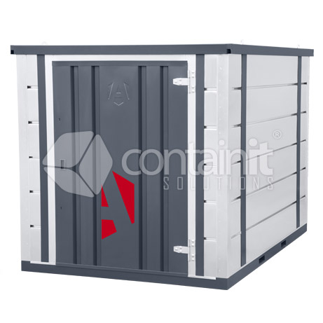 Flatpacked Site Storage Container