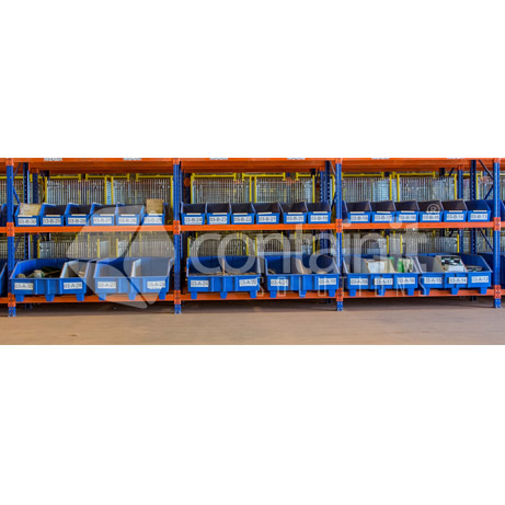 Warehouse Picking Bins and Pallets for Pallet Racking line