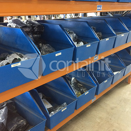 Warehouse Picking Bins and Pallets for Pallet Racking