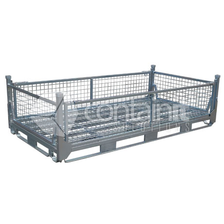 Double Size Half Height Collapsible Mesh Cage