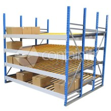 Large Gravity Feed Carton Flow Racks