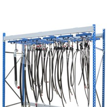 Freestanding Hose Storage Rack with Track System