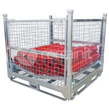 Storage Cages with V Rack