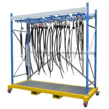 Mobile Hose Storage Rack