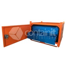 800mm High Site Box with Pullout Drawers