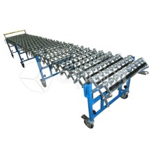 Expandable Conveyors with Skate Wheels