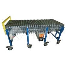 Powered Expandable Conveyors with Rollers
