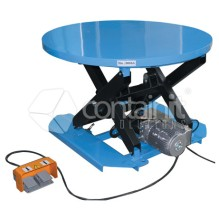 2000kg Capacity Rotating Electric Lift Table