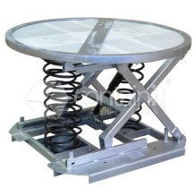 Spring Lift Pallet Positioners with Turntable