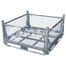 Half Height Collapsible Mesh Cage