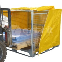 Extra Large Collapsible Transport and Storage Cage