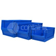 Collapsible Plastic Parts Bins & Storage Containers